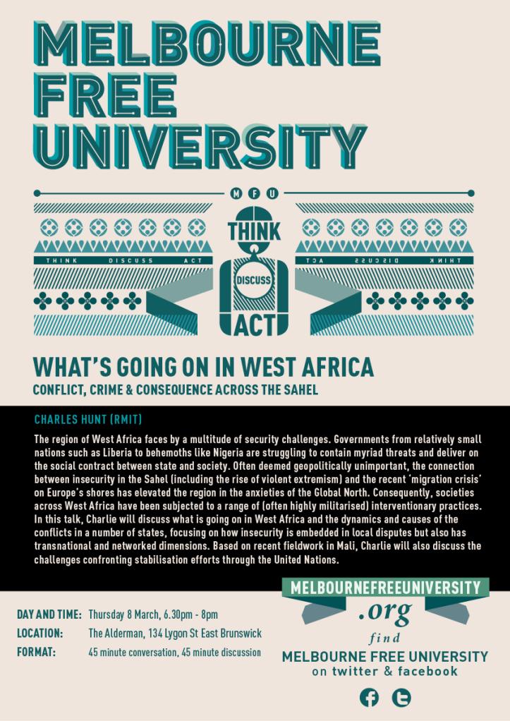 MFU POSTER - Charlie Hunt - West Africa